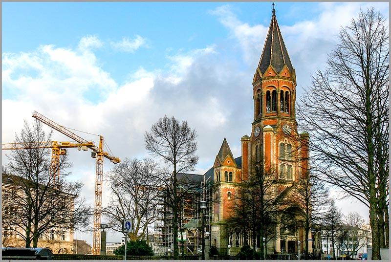 Kirche Essen, Essen NRW, Essen Innenstadt