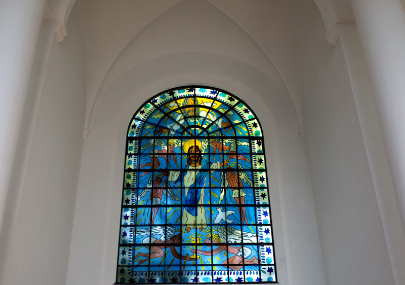 Kreuzeskirche-Fenster, James Rizzi