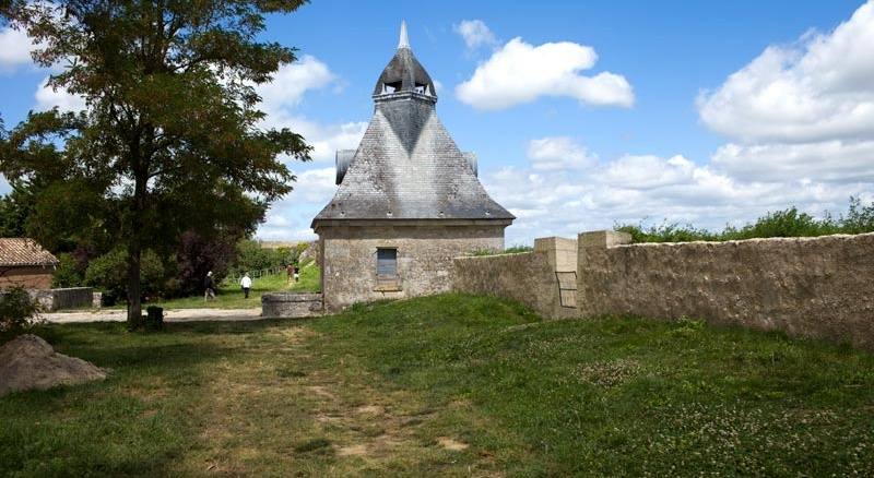 Stadt Blaye, Aquitanien
