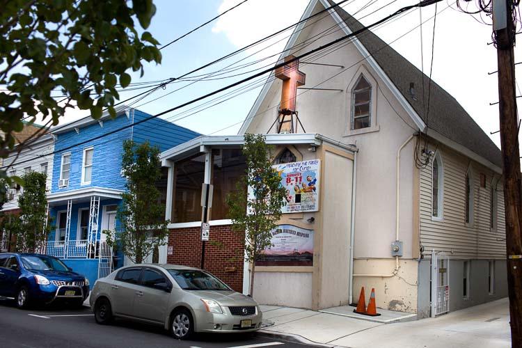Kleine Kirche in New Jersey