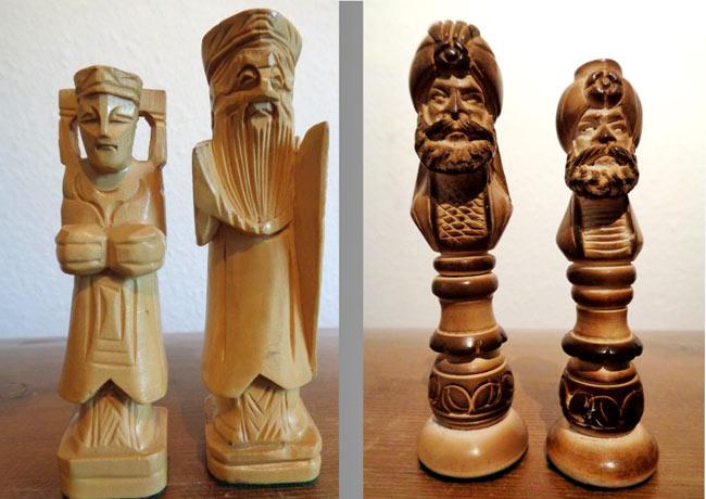 Schach arabische Figuren